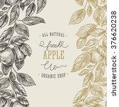 Apple Tree Design Template....