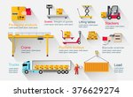 concept infographics equipment... | Shutterstock .eps vector #376629274
