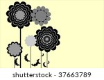 floral collection | Shutterstock .eps vector #37663789