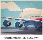 stylized vector illustration on ... | Shutterstock .eps vector #376652494