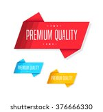 premium quality tags | Shutterstock .eps vector #376666330