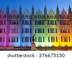 aberdeen scotland  14 febuary... | Shutterstock . vector #376675150