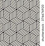 vector seamless pattern. modern ... | Shutterstock .eps vector #376676920