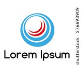 design element  logo   icon  in ... | Shutterstock .eps vector #376693909