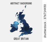 uk united kingdom great britain ... | Shutterstock .eps vector #376714450