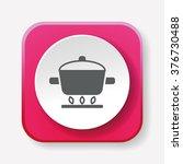 pot icon | Shutterstock .eps vector #376730488