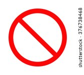 no sign | Shutterstock .eps vector #376738468