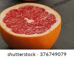 ripe grapefruits | Shutterstock . vector #376749079