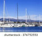 antibes  france  on january 11  ... | Shutterstock . vector #376752553