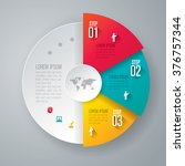 infographic design template can ... | Shutterstock .eps vector #376757344