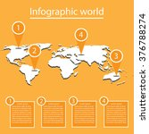 world infographics | Shutterstock .eps vector #376788274