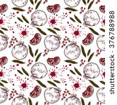 seamless pattern with... | Shutterstock .eps vector #376788988