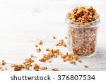 healthy breakfast. fresh... | Shutterstock . vector #376807534