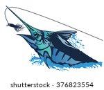 vector illustration of marline... | Shutterstock .eps vector #376823554