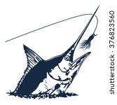 vector illustration of marline... | Shutterstock .eps vector #376823560