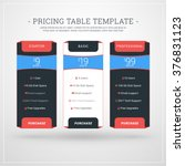 design template for pricing...
