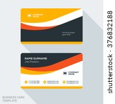 creative and clean corporate... | Shutterstock .eps vector #376832188