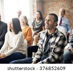 corporate seminar conference... | Shutterstock . vector #376852609