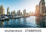 dubai marina | Shutterstock . vector #376885420