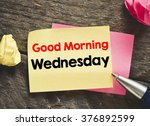 note with good morning... | Shutterstock . vector #376892599