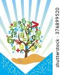 accountancy tree | Shutterstock .eps vector #376899520