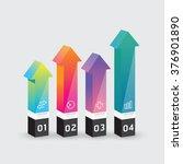 vector infographic template... | Shutterstock .eps vector #376901890
