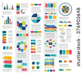 mega set of infographics... | Shutterstock .eps vector #376903648