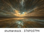 fractal horizons  abstract... | Shutterstock . vector #376910794