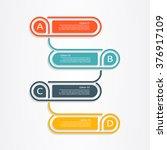 banner infographic design... | Shutterstock .eps vector #376917109