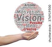concept or conceptual abstract... | Shutterstock . vector #376919500