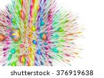 abstract colorful lightning... | Shutterstock . vector #376919638