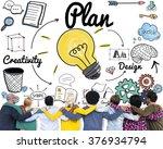 team teamwork support...   Shutterstock . vector #376934794