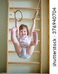 Baby Toddler On The Gymnastic...