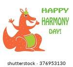 harmony day in australia  ... | Shutterstock .eps vector #376953130