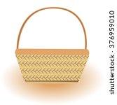 empty vector basket. vector... | Shutterstock .eps vector #376959010