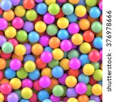 colorful balls background.... | Shutterstock .eps vector #376978666