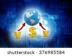 global currencies | Shutterstock . vector #376985584