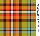 textured tartan plaid | Shutterstock .eps vector #377007964
