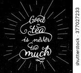 black and white motivational... | Shutterstock . vector #377027233