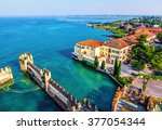 View Of The Italian Town Of...
