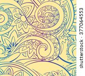 beautiful bright seamless... | Shutterstock .eps vector #377064553