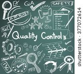 quality control in... | Shutterstock .eps vector #377072614