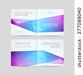 abstract brochure design ... | Shutterstock .eps vector #377088040
