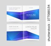 abstract brochure design ... | Shutterstock .eps vector #377088154