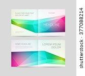 abstract brochure design ... | Shutterstock .eps vector #377088214