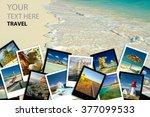 Photo Collage. Travel Concept.