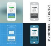 mobile wireframe ui kit....