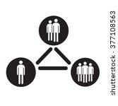 people icon illustration design | Shutterstock .eps vector #377108563
