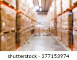 logistic  storage  shipment ... | Shutterstock . vector #377153974