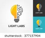 light bulb   idea  creative ... | Shutterstock .eps vector #377157904